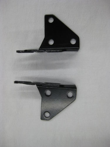 1956 57 1958 59 1960 Corvette Convertible Top Brackets (2) New