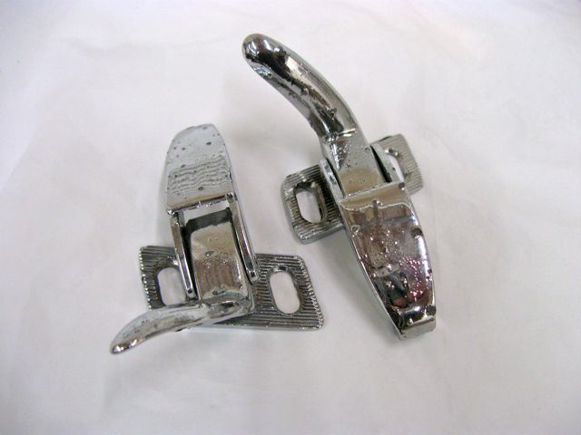 1956-62 Corvette Convertible Top Lid Latch Right & Left Used