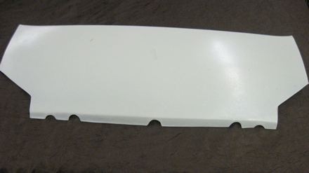 1961 1962 Corvette Front Top Panel Fiberglass White New