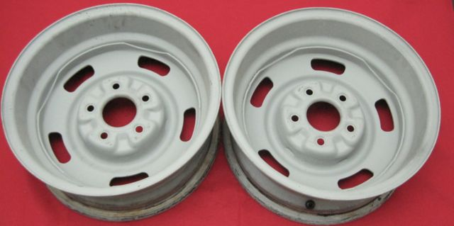 1967 Corvette Rally DC Large Wheel 15 x 6 Used Original X 2