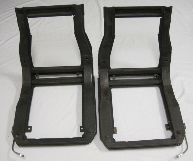 1956 -1960 Corvette Seat Frames w Tracks Used Original Set