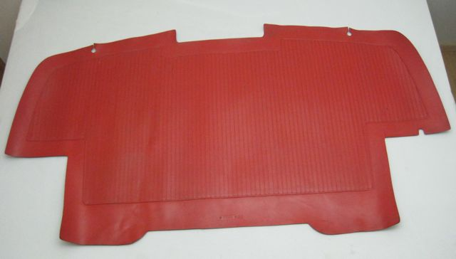 1961 - 1962 Corvette Trunk Mat Roman Red 3783835 Used Original