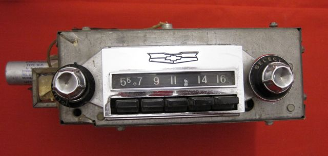 1957 Chevy Vintage AM Radio USED Original