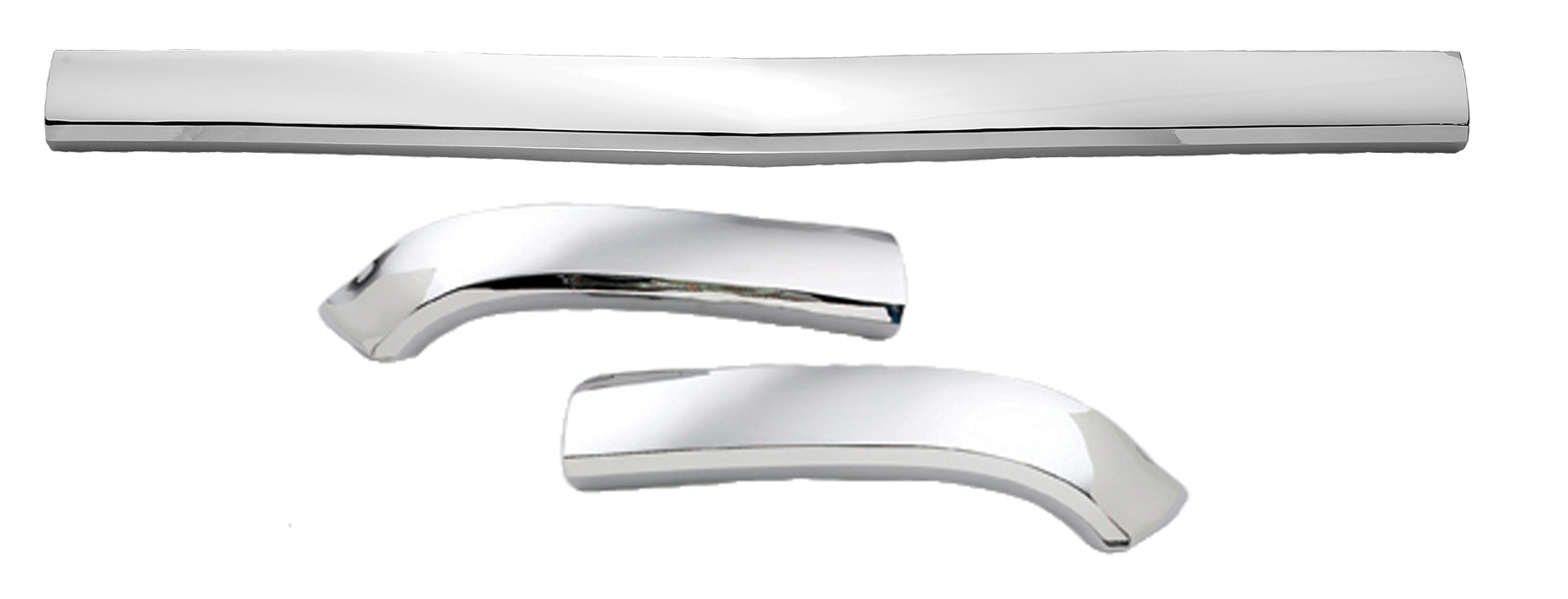 Chevrolet 57 Hood Bar Extension kit with mounting hardware