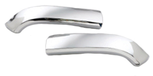Chevrolet 57 Hood Bar Extension Right & Left w Installation Kit
