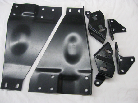 1961 62 Corvette Convertible Top Brackets SET 6 NEW