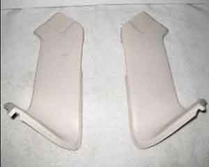 58 59 60 61 Corvette Nose Corner Bonding Strip Right & Left