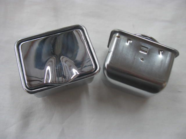 53 54 55 Corvette Ash Trays Used Original