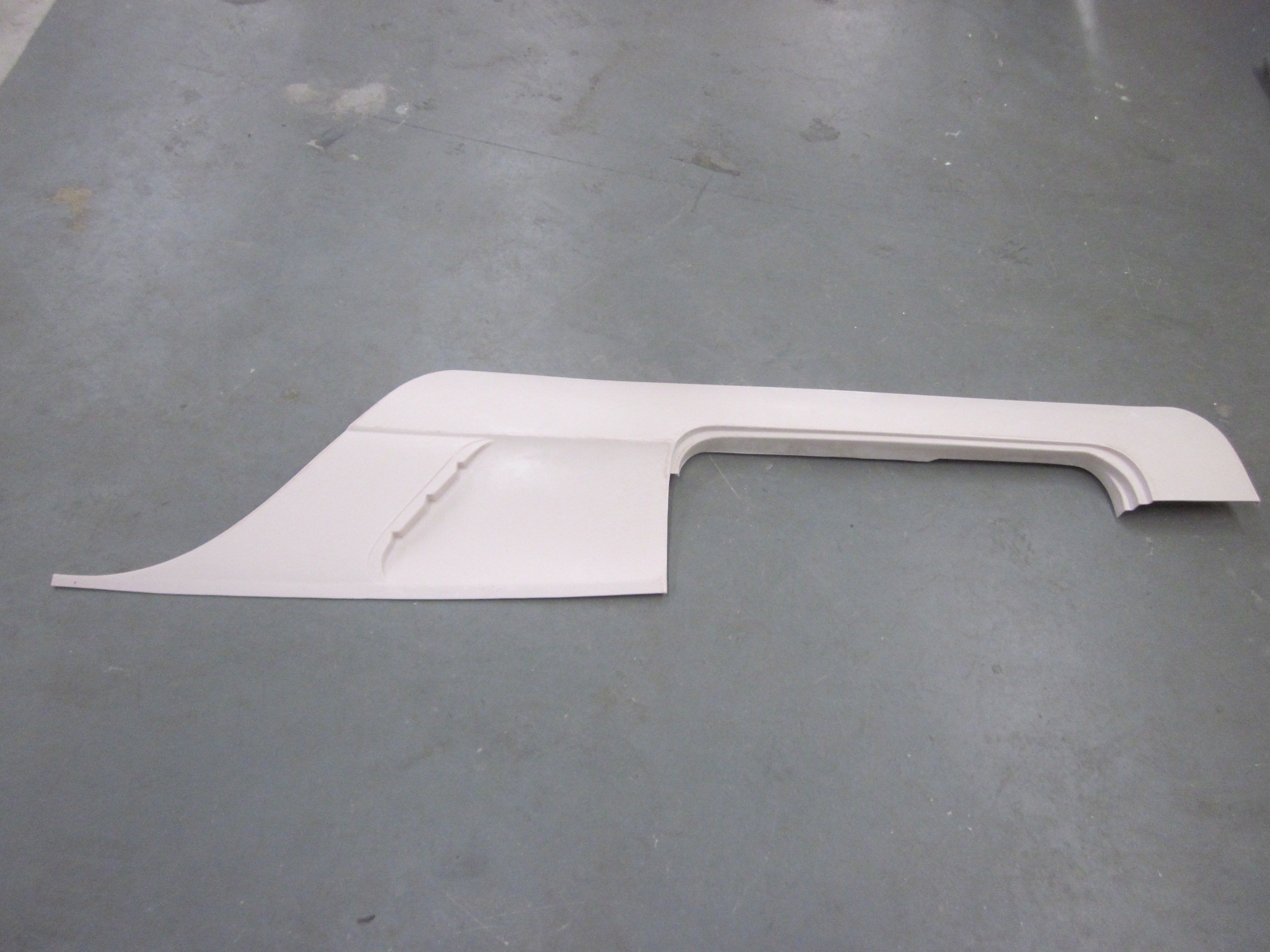 58 59 60 61 Corvette Fender Left Side Panel with Rocker NEW