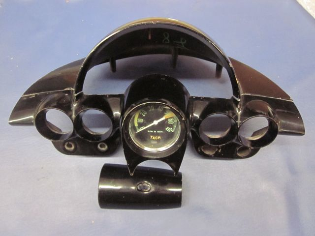 1961 1962 Corvette Dash Gauge Cluster with Tachometer Original""