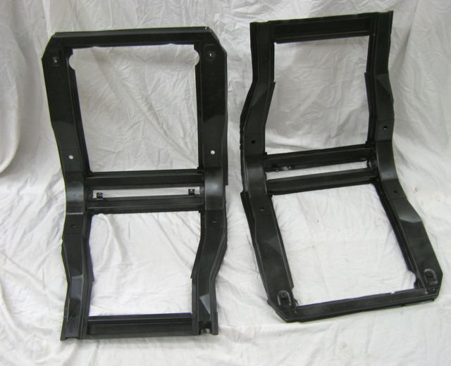 1956 57 58 59 60 Corvette Seat Frames Pair Original