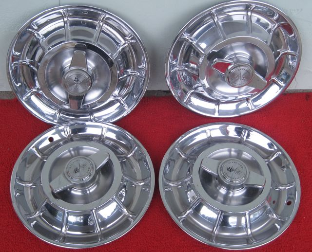 Used 1956 1957 1958 Corvette Wheel Covers