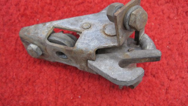 1956 thru 1960 Corvette Trunk Lid Latch Mechanism