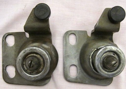 1968 thru 1976 Corvette Hood Latches Used Original Pair