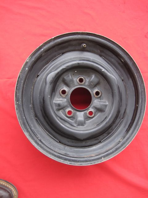 "1956 - 1960 Corvette Dog Bone Wheel 15"" x 5"" Used Original 5 x 4"