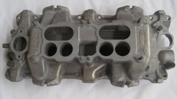 Impala Dual Quad Intake 409 Dated GM 3814881