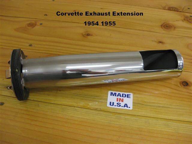 1954 1955 Corvette Exhaust Extension Tips