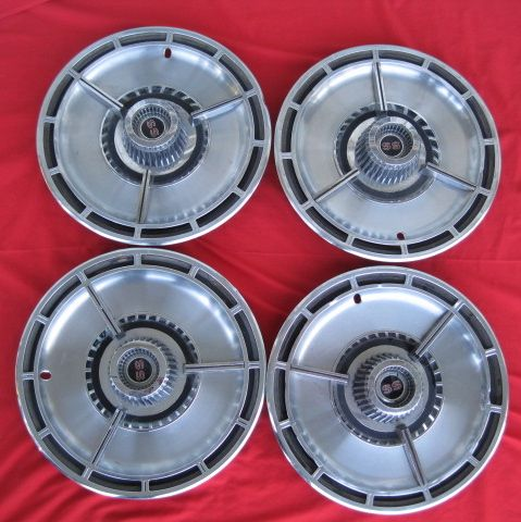 "1964 IMPALA SS 14"" Hub Caps Wheel Covers set 4"