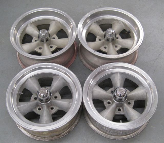 Superior Torque Thrust Style Wheels Set of 4 Used Original