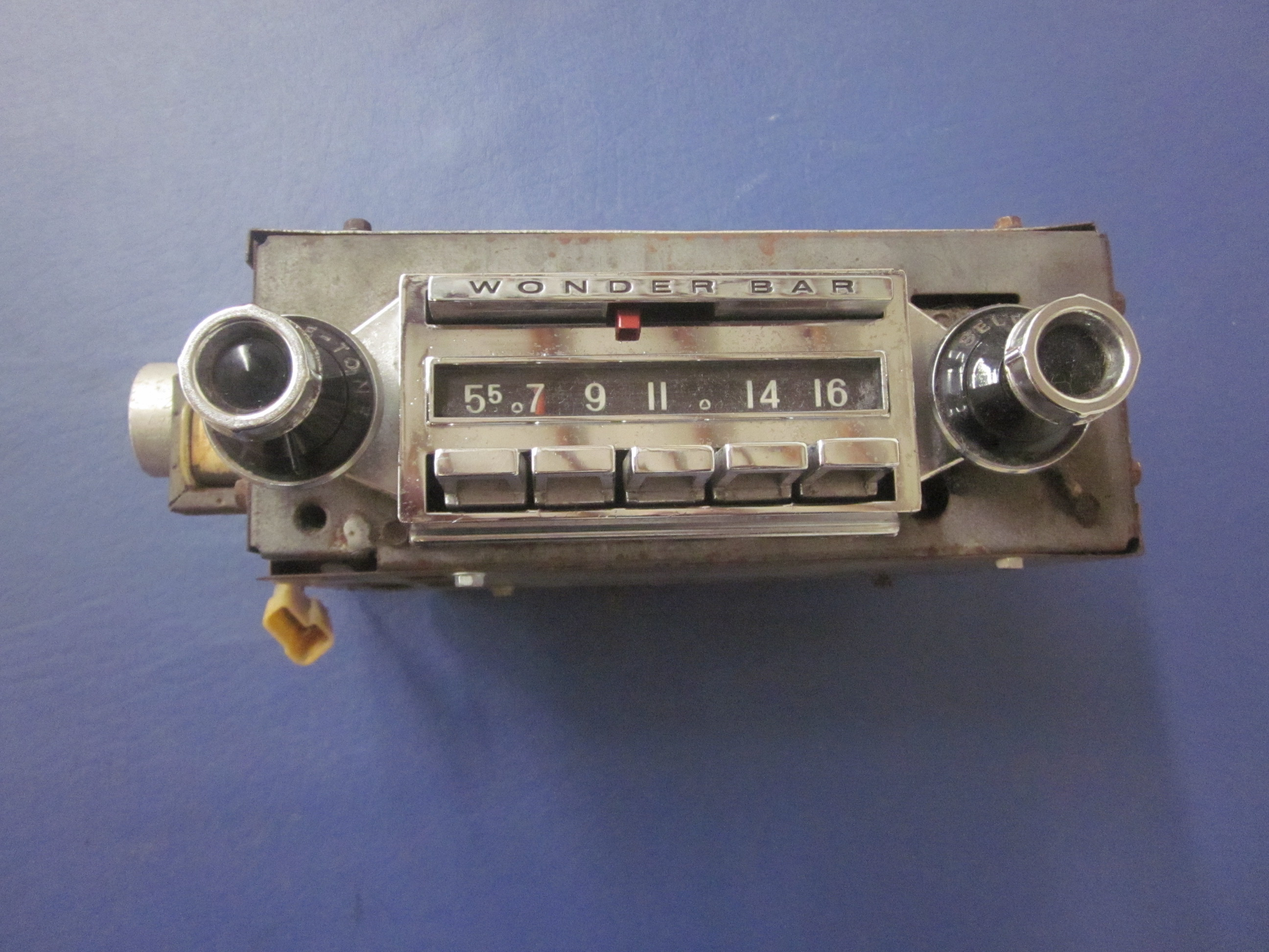 1958 1959 1960 Corvette Wonder Bar AM Radio Used Original